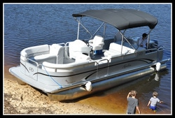 Bentley 240 Fish Pontoon Boat