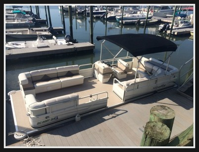 Bentley 240 Cruise Pontoon Boat
