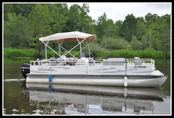 Bentley 244 Fish Pontoon Boat