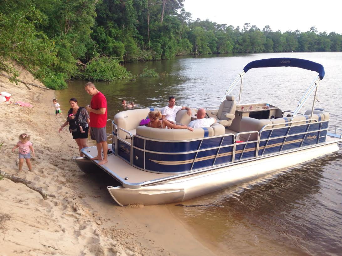 Bentley 250 Party Cruise Pontoon Rental Page